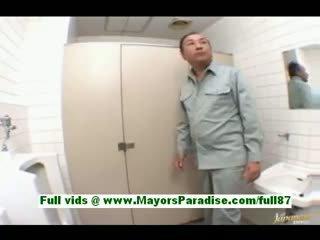 Arisa Kanno Young Japanese Schoolgirl In The Bathroom
