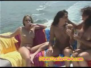 Hardcore Swinger Party at the yacht