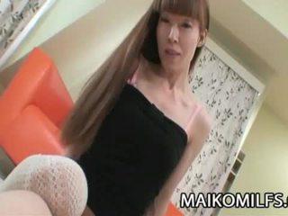 Yoshie Hirai Skinny Japan Mom Getting Drilled
