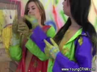 college meisje actie, student scène, hq aanbiddelijk video-