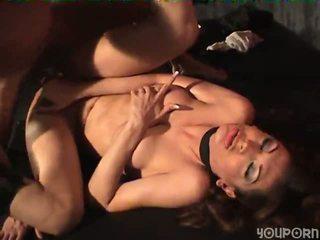 brunette, big tits, anal