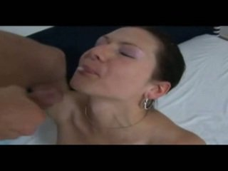 Cumshot Of A Young Amateur Babe