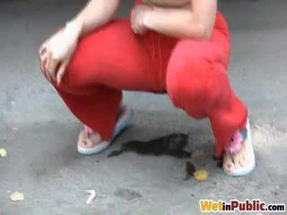 controleren seks in de buitenlucht neuken, groot openbare sex thumbnail, nominale pissing