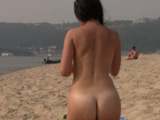 hq strand, kijken publiek neuken, nudist film