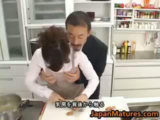 Hitomi kurosaki érett ázsiai csaj part1
