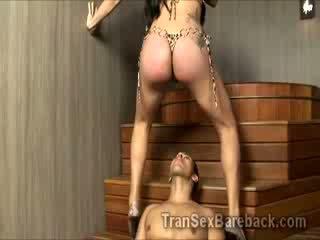 hetro perv goes Crazy with hot Booty fucking fucking fucking Tgirl Juliana Souza