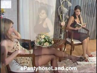 Alice And Gertie Nasty Hose Scene