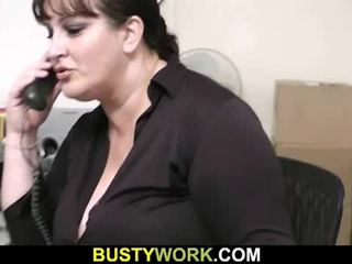 Interview leads to sex for this horny fatty