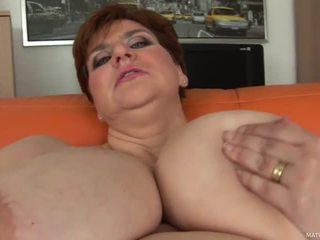 bbw, big tits, solo, natural tits
