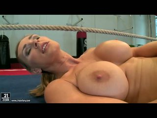 full babe video, big tits, quality solo