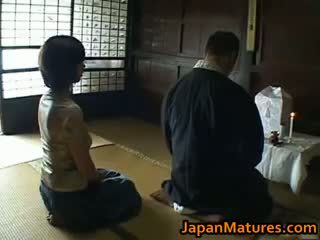 일본의, 그룹 섹스, 큰 가슴