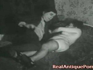 1920 klasický porno: the robber!