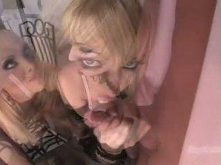Gitta berambut pirang babe seperti untuk pukulan itu whistle dengan ally