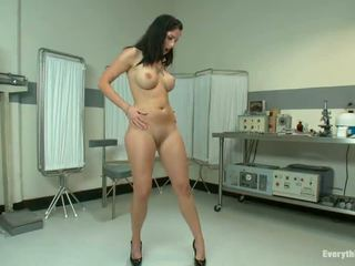 Awe Inspiring Tricia Oaks Has Her Butt Torn Apart By A Doctor