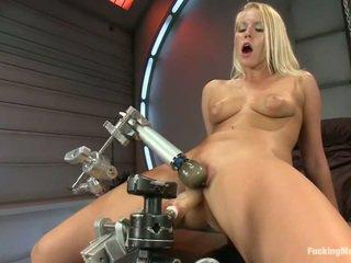 nominale nice ass, een speelgoed, controleren fucking machine actie