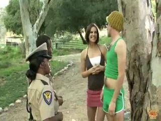 een seks in de buitenlucht, echt openbare sex video-, echt out door