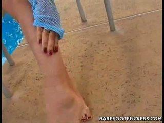 Foot Pumping Bianca