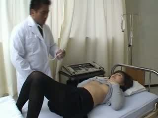 Doctor anal penetrated his patient hard
