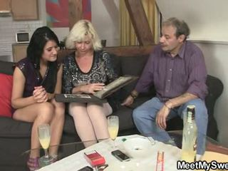 Gf gets lured into 3 adam by his parents