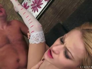hardcore sex, orale seks film, blondjes