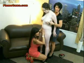 Mature Pornstars Lesbian Threesome