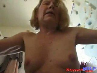 old, grandma, granny, anal