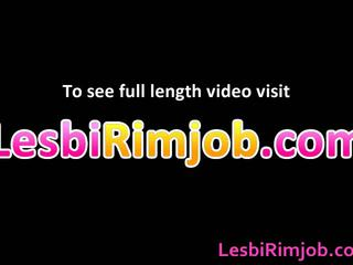 Redhead Lesbo Doxy Acquires Ass Licked