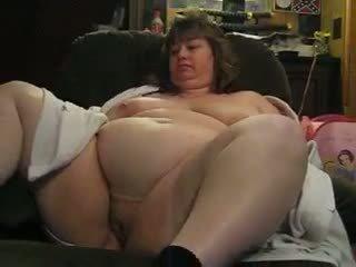 Cliff fisting Wanda's huge pussy