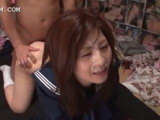 plezier japanse porno, heetste cumshot, bukkake
