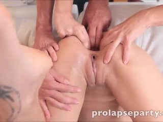 Amber and Kiera get their assholes prolapsed