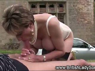 britanik shih, ndonjë cumshot, real i pjekur në linjë