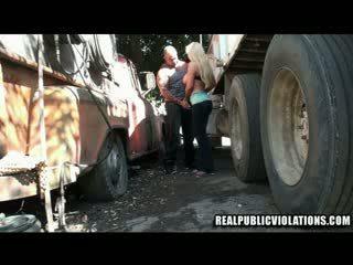 Truck Stop Fucking Violations