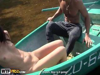 brunette, pijpbeurt gepost, echt hd porn video-
