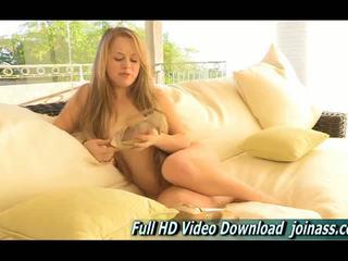 Madison trẻ cô gái tóc vàng ftv cô gái thủ dâm