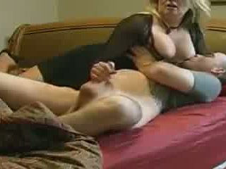 Eje helps not her stepson in bed