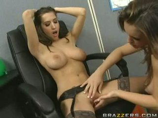 Breasty Gorgeous April Oneil Acquires The Best Lick On The Twat She Always Wished For