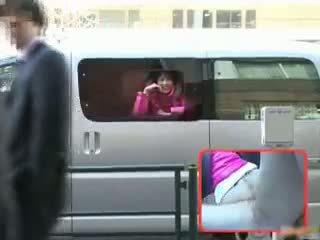Horny Nana Natsume Fucked In A Van Part2