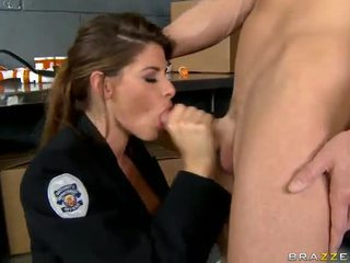 Shagging ザ· 一番ホットな 警官 今までに madelyn marie で 警察 駅