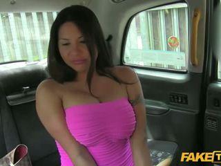 horký velká prsa, babes kvalita, taxi skutečný