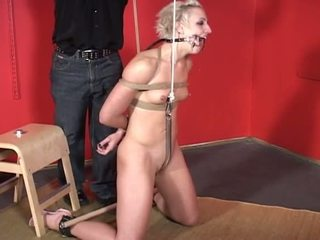 Porner premium jon r: masochist babeh has her hands tied up while being fucked by dildo
