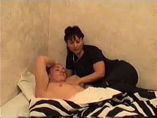 Mom wakes son for bayan