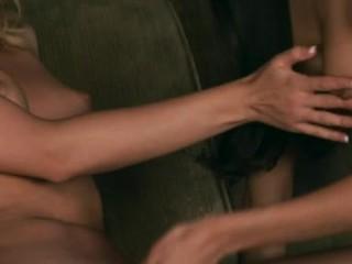 Blonde Marlie Moore Enjoys Licking Her Girlfriend's Simmering Wet Crack