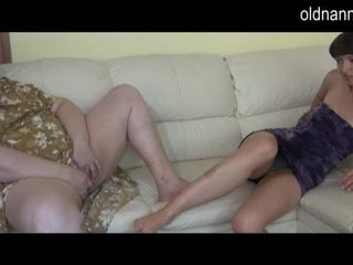 Wanita gemuk cantik perempuan tua dan muda gadis onani bersama video