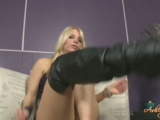 Ashley Fires Wide Spreading Her Legs Onto Daycouch
