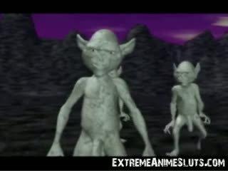 3d aliens su un principessa!