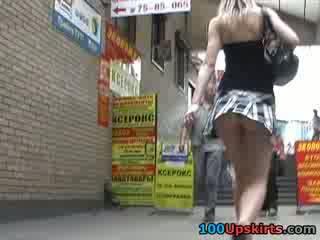 Models short short skirt dancing so sexily