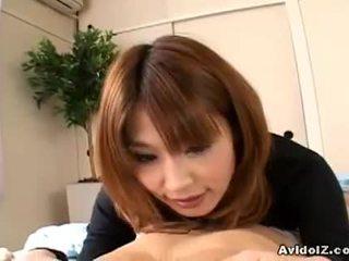 brunette zien, kwaliteit nice ass groot, japanse