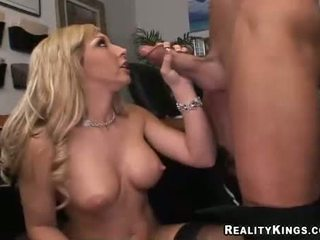 Blonde Busty Jessica Lynn Blows A Ma Holeive Meat Ramdick