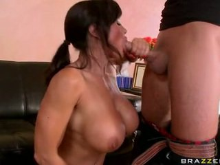 nieuw brunette thumbnail, vol pijpen seks, echt meloenen porno