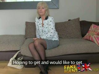 FakeAgentUK Mature MILF wants young stud cock on demand